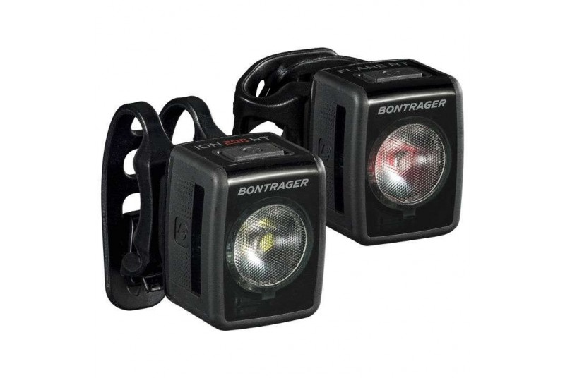 Juego de luces Bontrager Ion 200 RT/Flare RT