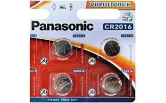 Pila de Boton Panasonic CR2016
