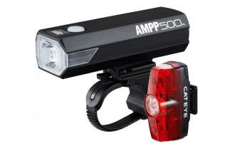 Kit luces Cateye AMPP 500 / Rapid Mini