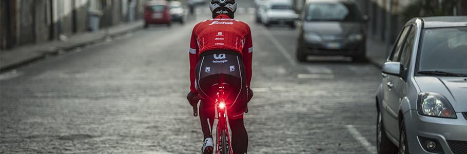 Luces para la bicicleta potente mtb  diurna trasera delantera