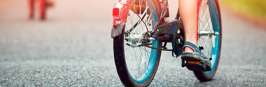Cámara bicicleta de niño