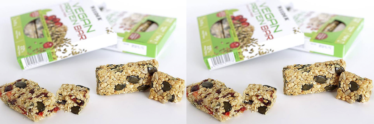 victory endurance vegan protein bar cereales